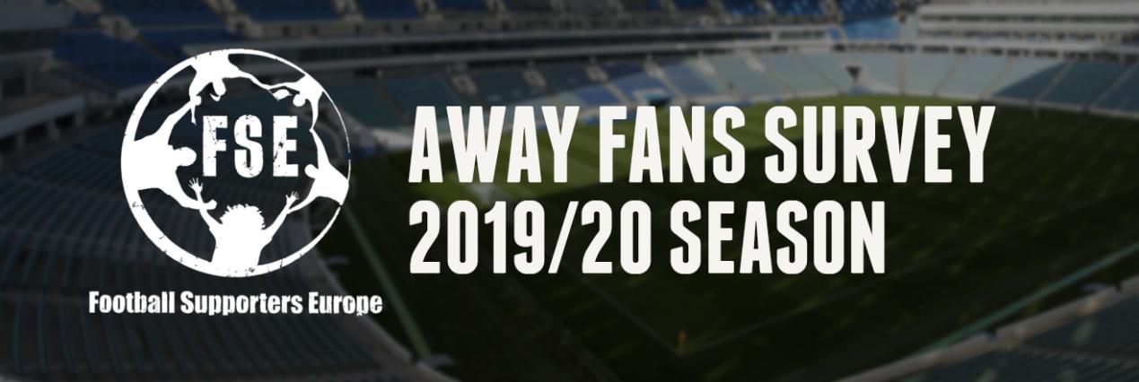 Encuesta para seguidores visitantes de la FSE para las competiciones europeas 2019-2020.