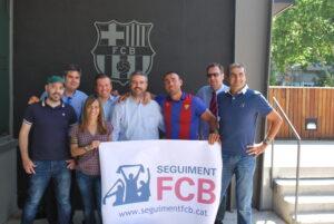 La precandidatura de Seguiment FCB, a les eleccions del 2015.